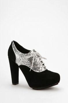 sparkly platforms for holiday dresses