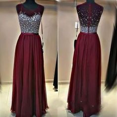 burgundy Prom Dresses,long Evening Dress,charming prom dress,2016 prom dress,BD0391