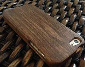 iPhone Wood Case Black Walnut for iPhone 4 5 NEW SALE
