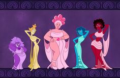 ladyegcake:   ladyegcake: We are the muses i don't know was it done before but here it is