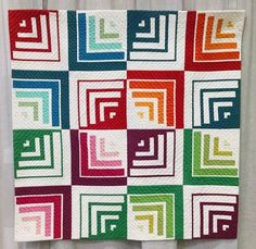 Quilt by poppyprint ....pattern available thru Craftsy