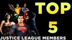 TOP 5 Justice League Movie 2018 Members I Want to See!