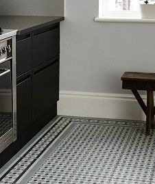 Henley™ Ice Corner Tile KITCHEN