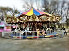 Carousel in Spring Park, Tuscumbia, Al.