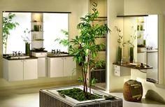 Bambus Badezimmer