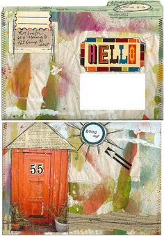 mail art from Roben-Marie Smith