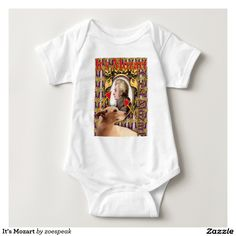 It's Mozart Baby Jersey Bodysuit from ZoeSPEAK