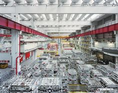What A Futuristic Car Factory Looks Like When Work Stops And Humans Leave