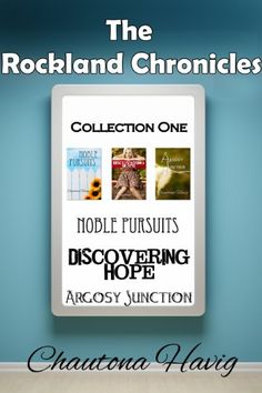 The Rockland Chronicles: Collection One by Chautona Havig https://www.amazon.com/dp/B00CD1LNAK/ref=cm_sw_r_pi_dp_A5AzxbD0TJSF1