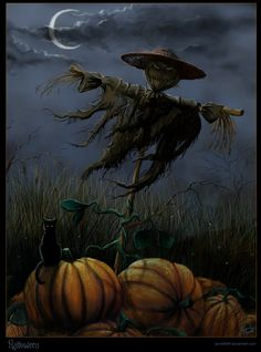 MorJer's Art - Halloween Pumpkin Patch