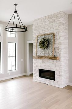 Photos - Black Birch Homes Home Fireplace, Fireplace Remodel, Fireplace Design, Living Room Inspiration, Home Living Room, Home Remodeling, Basement Renovations, My Dream Home, Great Rooms