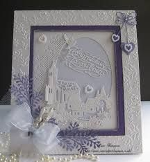 Tattered Lace and Sue Wilson dies. Wedding Day Cards, Wedding Anniversary Cards, Wedding Invitation Cards, Wedding Stationery, Wedding Stuff, Hand Made Greeting Cards, Making Greeting Cards, Christmas Cards, Craft Wedding
