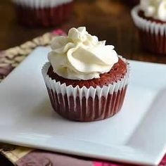 Gluten-Free, Sugar-Free Red Velvet Cupcakes With Sugar-Free Cream Cheese Frosting - Allrecipes.com