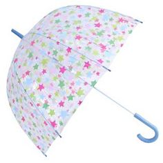 I just love my Cath Kidston shooting stars birdcage umbrella. And love that my daughter has a matching smaller one - so cute!