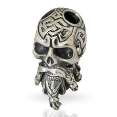 Metal Charms Paracord Beads Skull Accessories Lanyards Decoration Bead Rope Bead