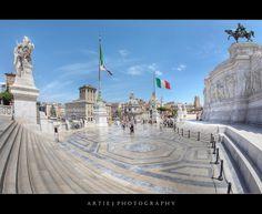 The Victor Emmanuel II Monument, Rome, Italy (II)