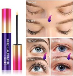 LENGTHEN AND STRENGTHEN your eyelashes and brows to achieve alluring eyes naturally. Our nourishing eyelash growth serum promotes new eyelash growth and fortifies existing hairs for bold, dramatic looking eyes in as little as 2 weeks. This advanced formula eye lash growing serum provides a magical boost to thin, sparse and brittle lashes.