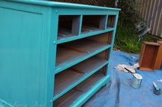 Painting Furniture: DIY Dresser MakeoverStorage Talk