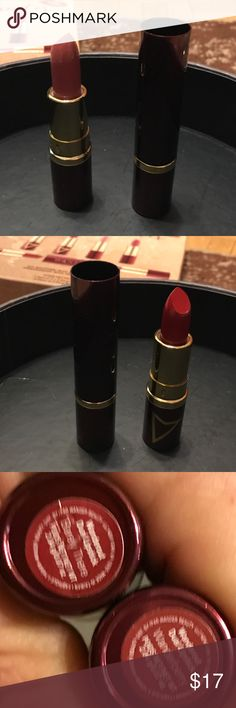 """Wander dual end lipstick. BNWT. 4"""" long. 2 great colors in one stick, made for the ones who love variety for me. Colors: barely there and wanderberry. What a great lipstick item to carry around in your bag or fully stocked toiletry bag for those unexpected adventures. Always be prepared!  You can go from day to night in one tube. The reviews are fantastic and sold out. A moisturizing and matte dual end lipstick I found on accident. BNWT like all my beauty products. Safety first! Never used…"""