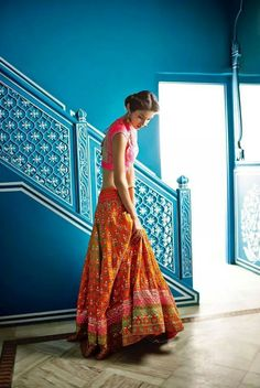 Anita Dongre latest collection | Fashion Crush on Anita Dongre: http://www.xaazablog.com/fashion-crush-on-anita-dongre/ #indianfashion