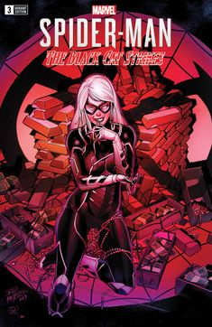 Marvels Spider-Man Black Cat Strikes : Marvels Spider-Man Black Cat Strikes Cover B Incentive Carlos Pacheco Variant Cover Marvel Comic Universe, Marvel Comic Books, Marvel Characters, Marvel Comics, Marvel Venom, Spiderman Black Cat, Black Cat Marvel, Spiderman Art, Comic Book Girl