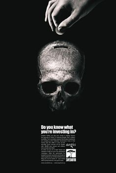 Darfur Coalition. Press ad to highlight the genocide in Darfur region of Sudan.