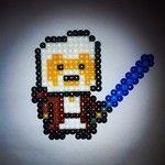 Obi Wan Kenobi -- perler beads