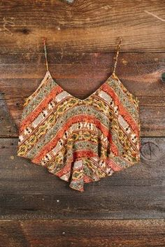 Autumnal Equinox Crop Top, Nectar Clothing