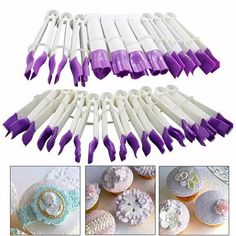 Cupcake Kitchen Decor, Fondant Tools, Cake Cutters, Fondant Cookies, Rolling Fondant, Zucchini Cake, Modeling Chocolate, Chocolate Gum, Sugar Craft