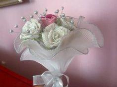 iğne oyası  gelin çiçeği modeli