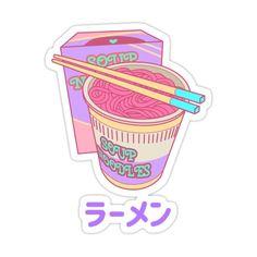 Stickers Cool, Stickers Kawaii, Cute Laptop Stickers, Bubble Stickers, Anime Stickers, Printable Stickers, New Sticker, Logo Sticker, Cute Food Art