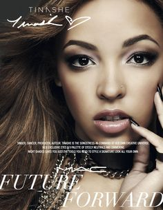 Tinashe Named Face Of MAC Cosmetics Future Forward Campaign