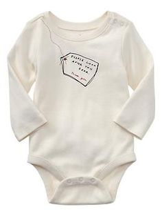 Paddington Bear™ for babyGap bear tag graphic bodysuit | Gap