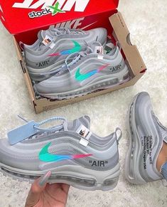 fcd078ae36 *GIVEAWAY* I've teamed up with to give away a pair of these limited Off-White  x Nike Air Max 97 'Menta' 🍭 How to ente