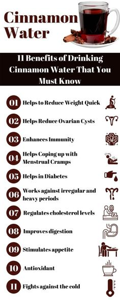 Cinnamon Water Benefits, Tea Benefits, Cold Water Benefits, Benefits Of Drinking Water, Apple Benefits, Honey Benefits, Natural Treatments, Natural Remedies