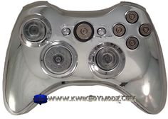 Chrome Full Ammo Custom Xbox 360 Controller----- I need it