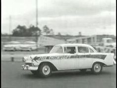 Joie Chitwood Thrill Show 1956 Chevrolet Commercial. #Advertising