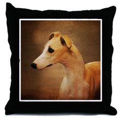 Italian Greyhound Throw Pillow on CafePress.com