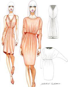 Design & Illustration by Nahrin Sarkisova | Otis Fashion, Class of 2017.
