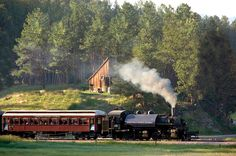 1880 Train :: Black Hills Steam Train,  2 hour (round trip) steam engine ride to Keystone - approximately $100 for our family