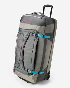 Expedition Drop Bottom Rolling Duffel - Extra Large   Eddie Bauer