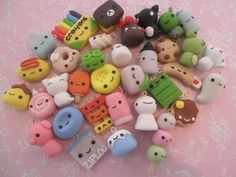 polymer clay charms | LUUUX