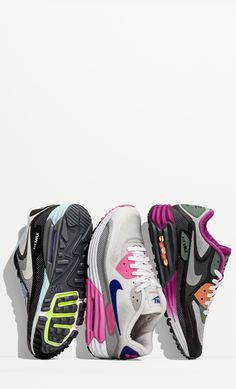 Classic style. Vibrant color. #Nike #airmax #style