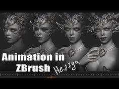 Animation in ZBrush - YouTube