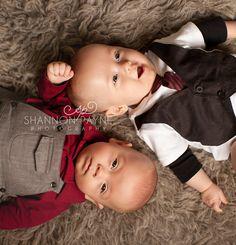 5 Month Old Twins Nashville Photographers, 5 Month Olds, Studio Portraits, Havana, Baby Photos, 1 Year, Twins, Shots, Children