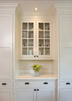 Kitchen Cabinets With Glass small space, custom storage inspiration | more lisa green and