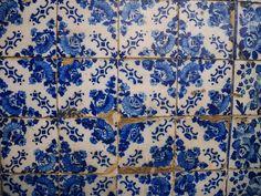 Azuléjos, Portugal, photo prise par Valérie Coutrot.