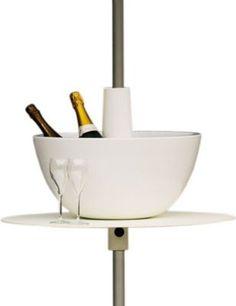 bistro 117 cm 6 8 personnes trou parasol fermob. Black Bedroom Furniture Sets. Home Design Ideas