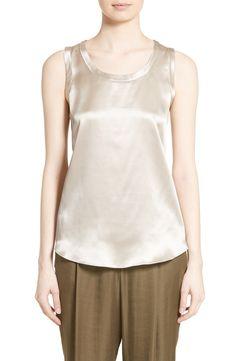 9b0ebe6772130 New Lafayette 148 New York Perla Reversible Silk Blouse NEON CORAL fashion  online.   248