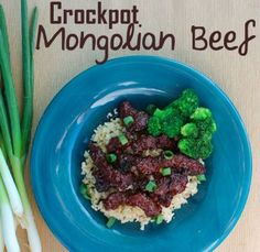 Crockpot Mongolian Beef Recipe - an easy dinner steak recipe your whole family will love